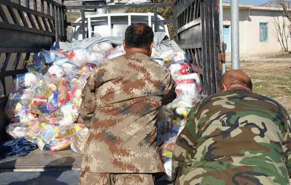 AID Support for victims of IS in Iraq
